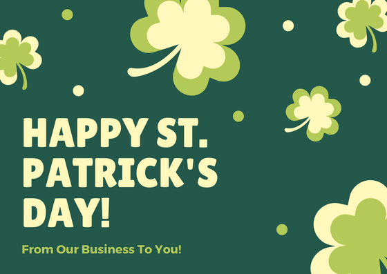 Happy St. Patricks Day from Art of Modern Dentistry!