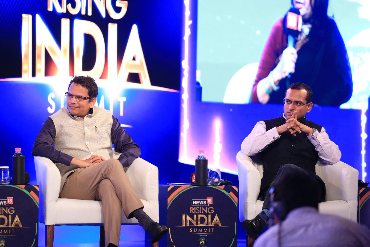 #News18RisingIndia -- An Important part of India-US relations is mutual dependence on capacities and capabilities. This has been based on people and individual peoples capacities too, which involved Indian diaspora too: @shaurya_doval, Director, India Foundation