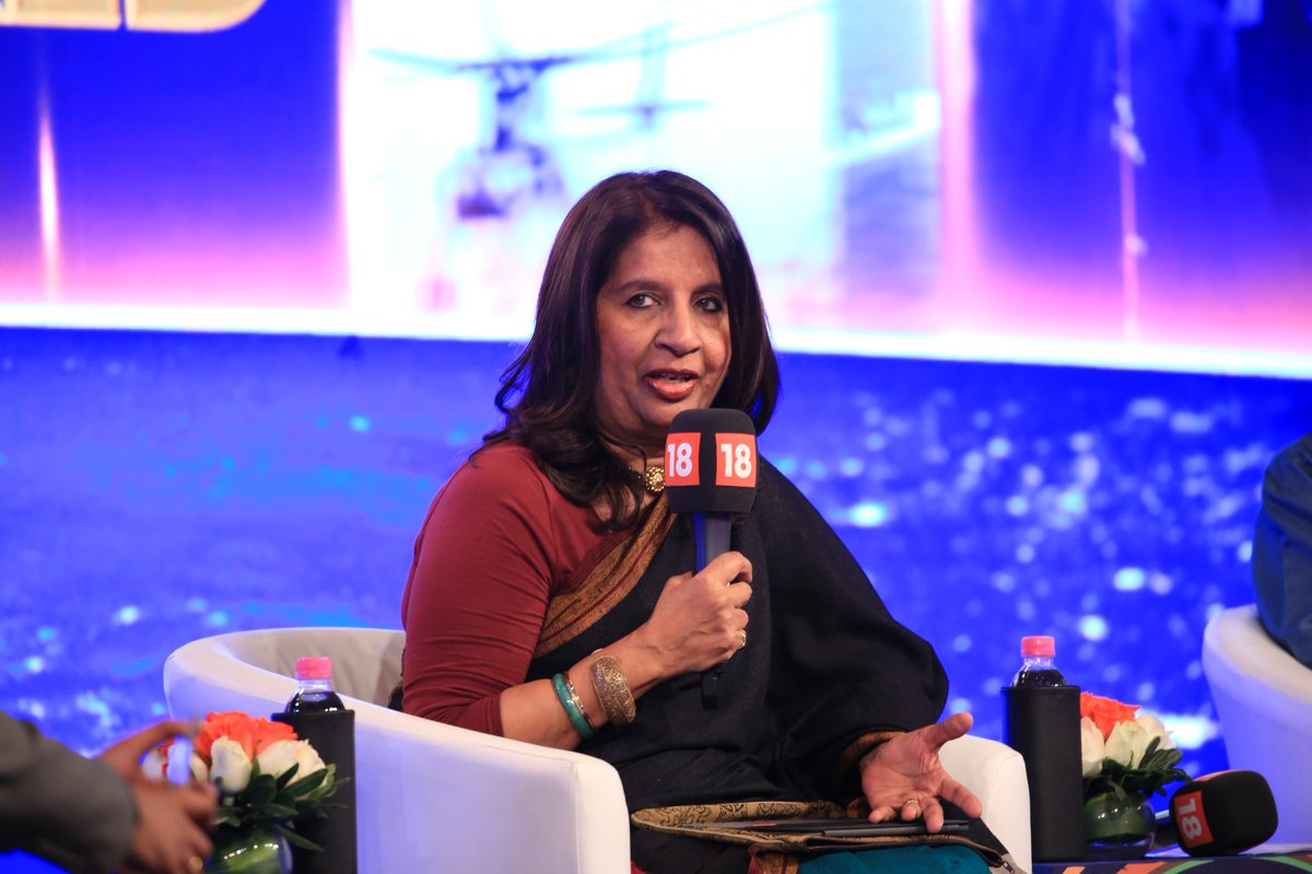 #News18RisingIndia | India is a magnet that attracts the best and brightest but we need to open our doors to the neighbourhood: @NMenonRao