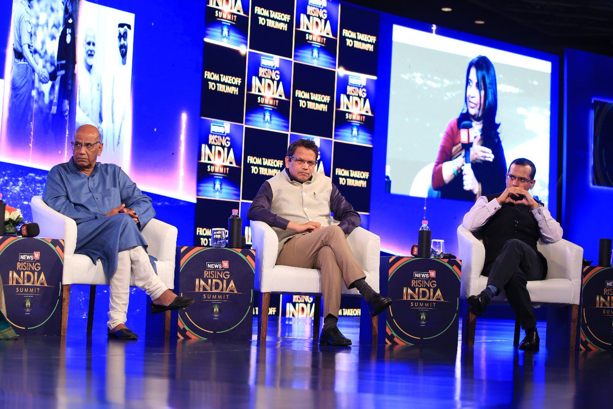 #News18RisingIndia -- India has become a must-go-to place for World leaders. It is an emerging power. By virtue of its size and geopolitical placement, it is a place to reckon with: Shyam Saran, Former Indian Diplomat