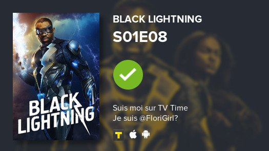 Vue  Episode S01E08 of Black Lightning!...