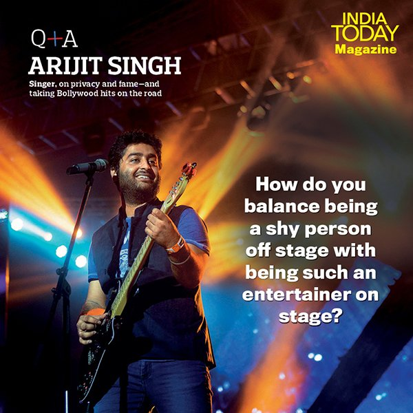 #IndiaTodayMagazine   Playback performer: Arijit Singh on taking Bollywood hits on road https://t.co/lxoEWhQP7v