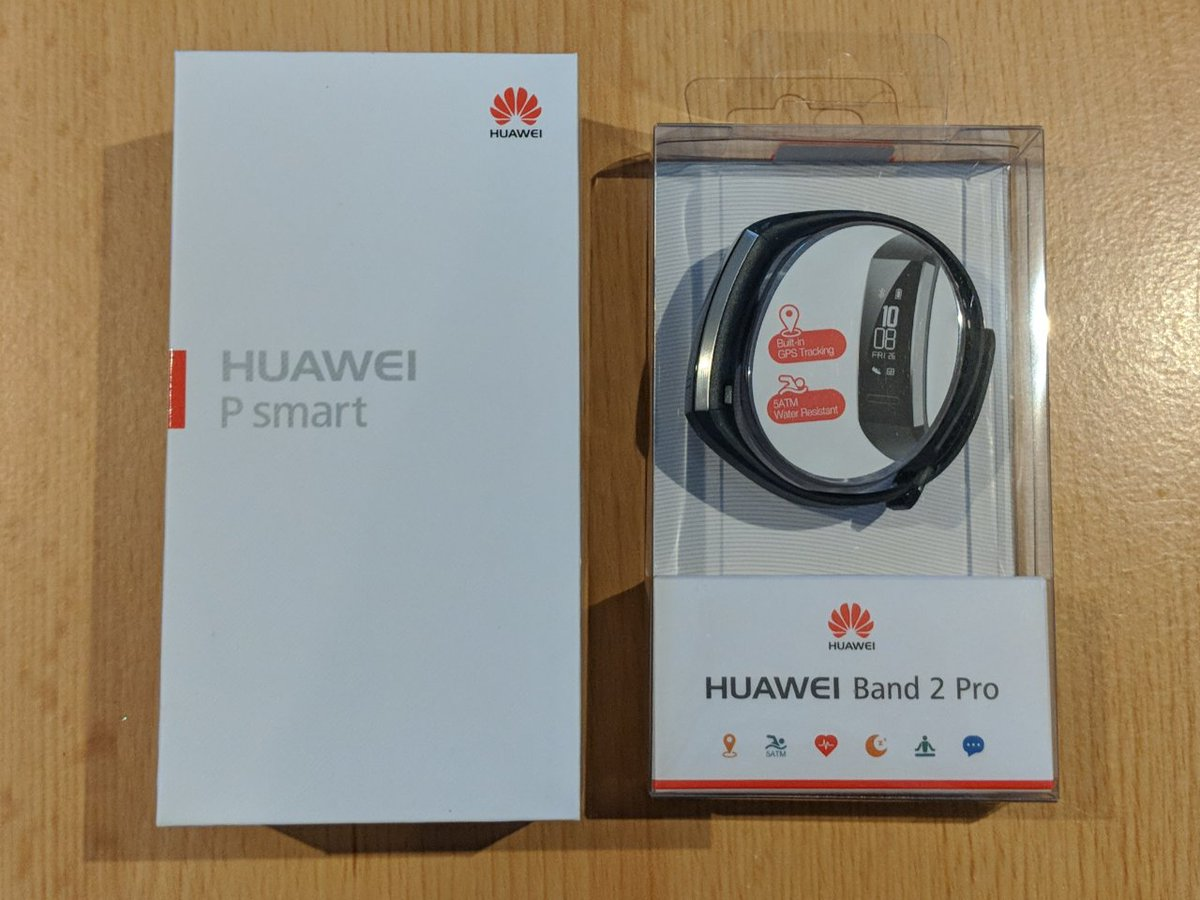 """Thanks to @HuaweiMobileUK, we're giving away a Huawei P Smart in the rarer Gold and White colour, featuring 3GB RAM and 32GB storage, a 5.65"""" Fullview display and 13MP+2MP cameras, PLUS a GPS equipped Huawei Band 2 Pro! Enter here - https://gleam.io/XMpdt/huawei-p-smart-huawei-band-2-pro-giveaway…"""
