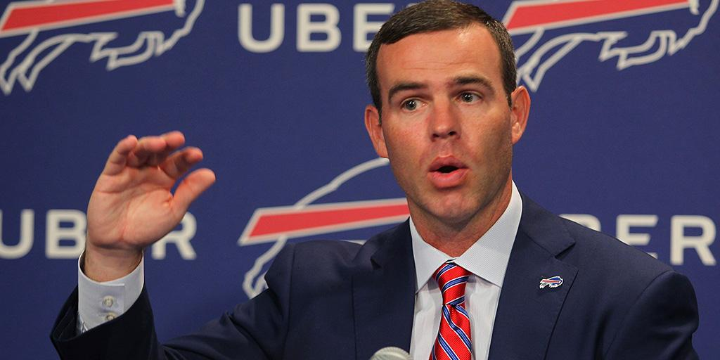 I know everyone assumes were going higher than No. 12 [overall pick].  Will the Bills trade up further in the 2018 #NFLDraft? on.nfl.com/JVOdk9