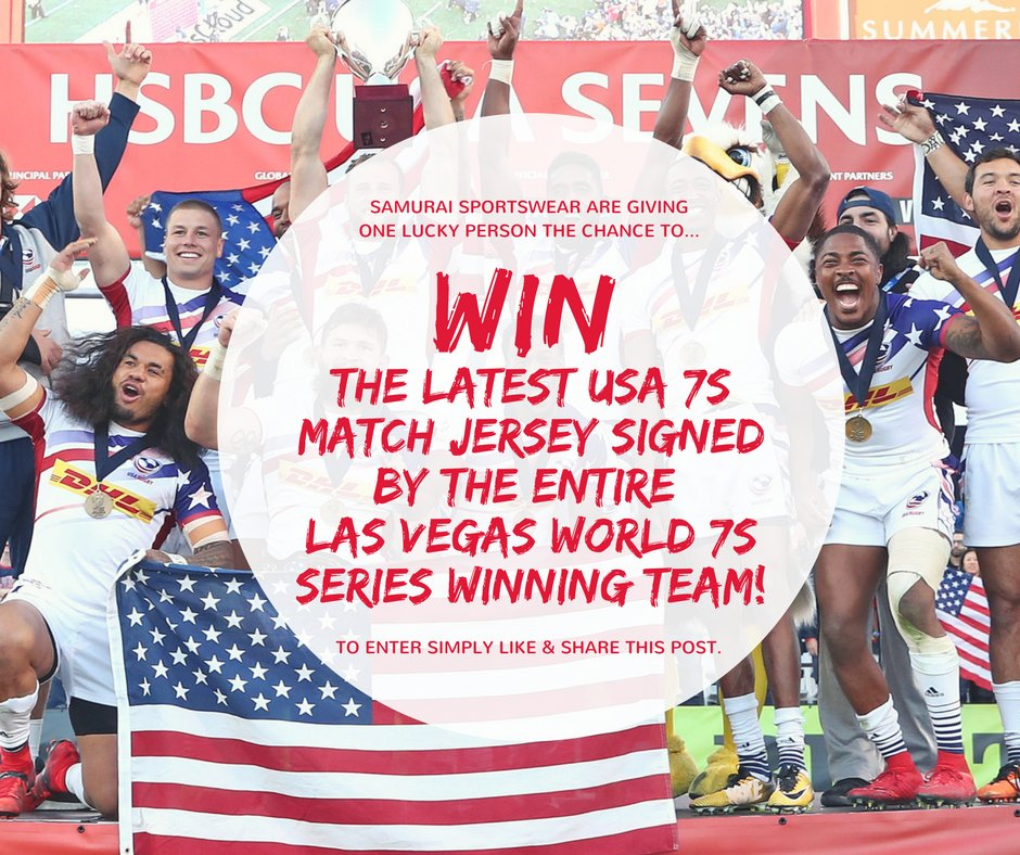 test Twitter Media - We are giving one lucky person the chance to #WIN the latest USA 7s match jersey signed by the entire Las Vegas World 7s Series winners! To enter simply like and share this post! Good luck everyone!  @USARugby @USARugby7s https://t.co/ws0bLP9jmz