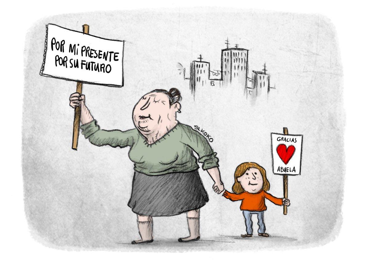 SUPERABUELAS en lucha por su presente y nuestro futuro!! #PensionesDignas #17MarzoYoVoy