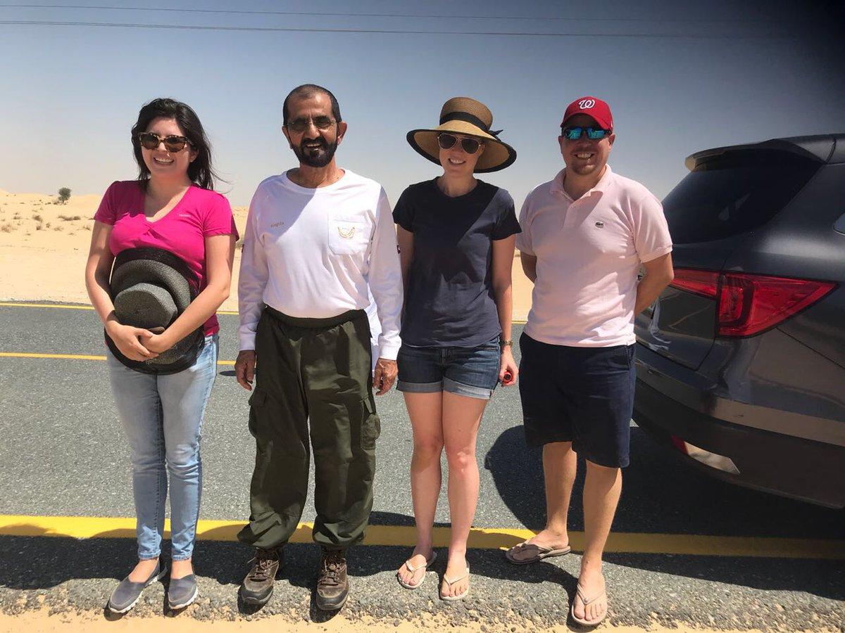 Правитель Дубая спас иностранцев, застрявших в пустыне