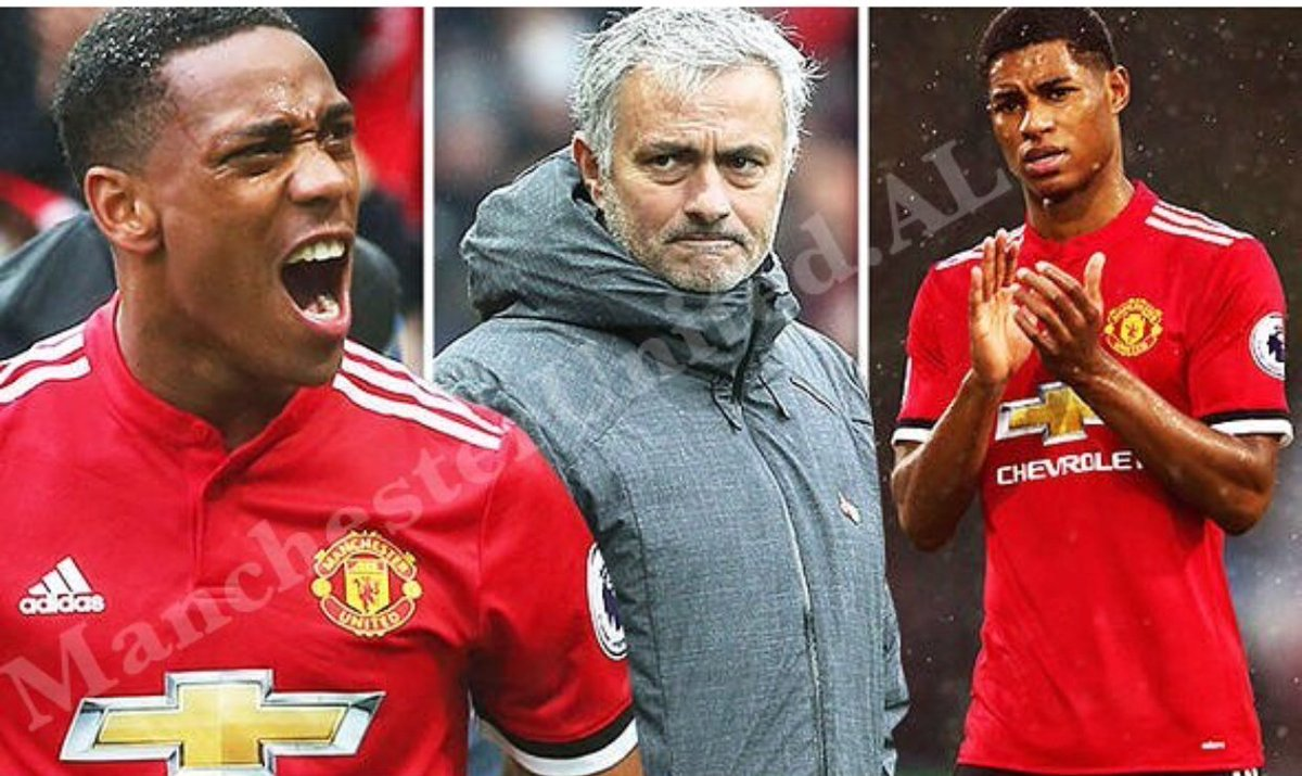 We don play 5 matches wey Rashford or Martial start for right-wing dis season, and we don lose all. 😂  If Mourinho try am again, i go send boys to beat am shege.   #MUIP