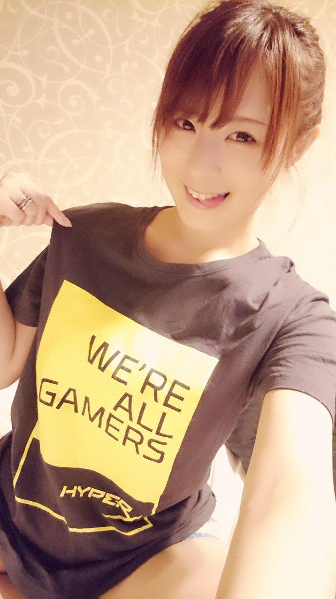 明日はG-Tune:Garage大阪さん(HP⇒にてお待ちしております! HyperXさんのTシャツ(๑•̀ㅂ•́)و✧