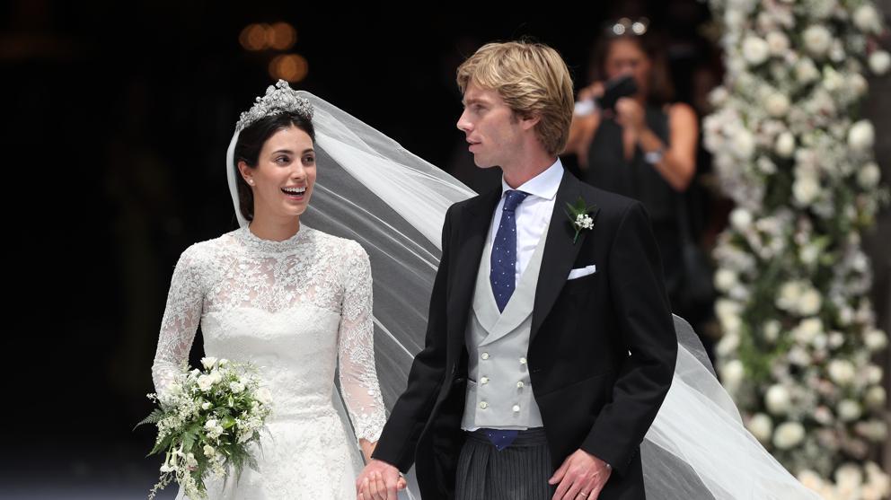 Alessandra de Osma se casa con el prínci...