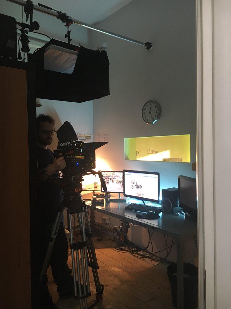Shooting Day6 #ilterzoindizio 🔜 https://...