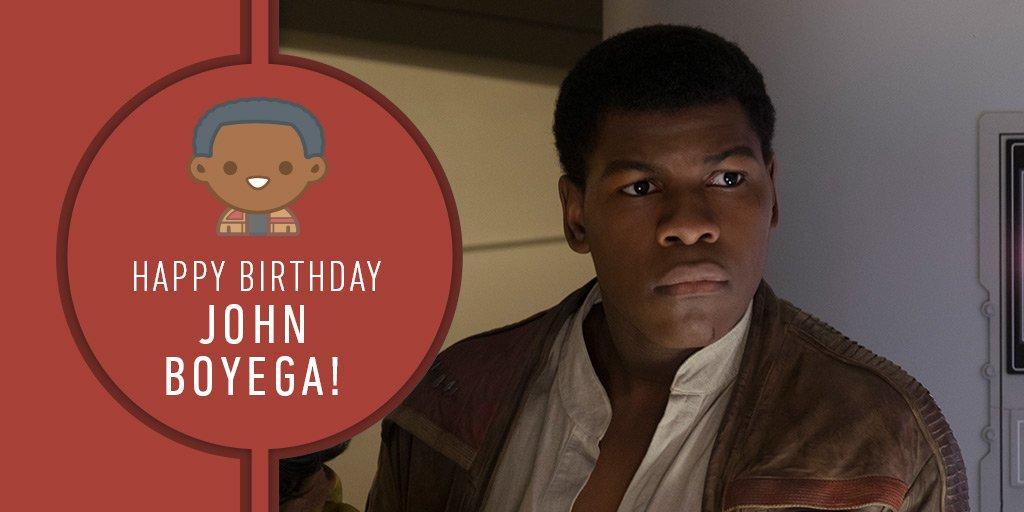 Join us in wishing @JohnBoyega a happy birthday!