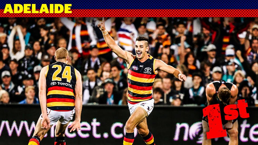 The Crows pulled up one win short last year. But in 2018, there's absolutely no reason they can't atone. In the last of FOOTYOLOGY'S 'Ladder Countdown' series, we look at why @Adelaide_FC is poised to win the flag this time .... https://t.co/yIQHH9oWpi