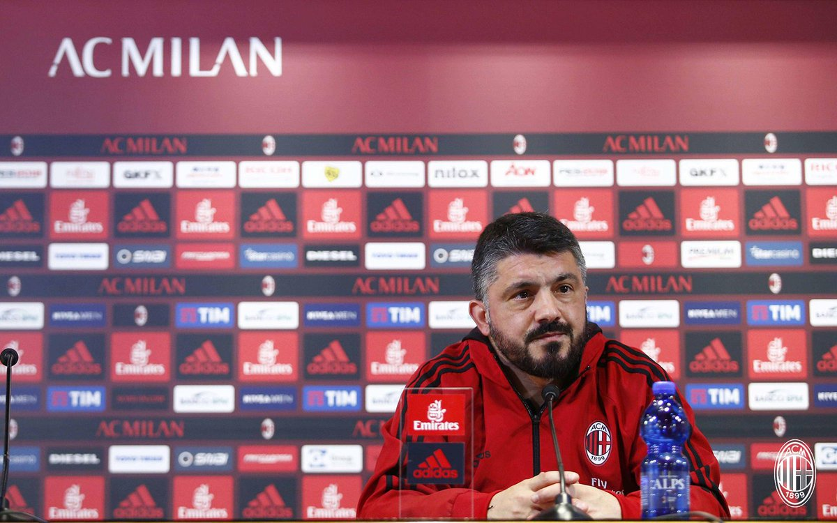 🎙💬 That's all from the boss at the press conference. Stay tuned for more #MilanChievo news here and on https://t.co/JtvovTfCHn