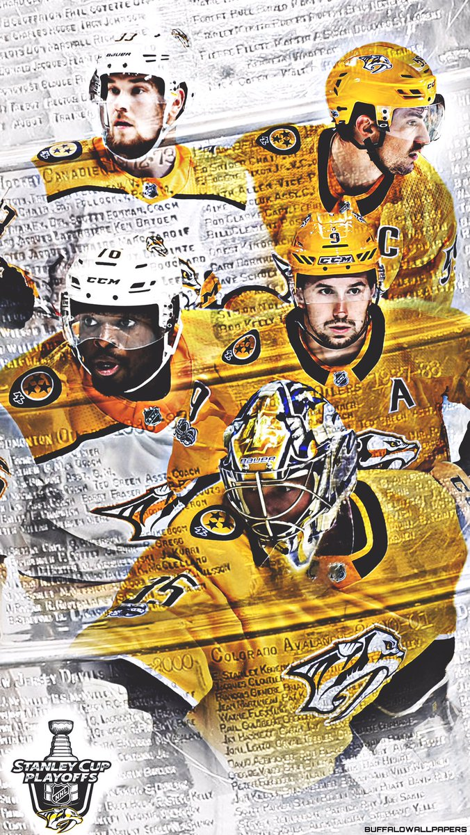 Buffalo Wallpapers On Twitter Nashville Clinched A Playoff Spot Predators Playoffs 2018 IPhone Wallpaper Preds NashvillePredators Smashville NHL