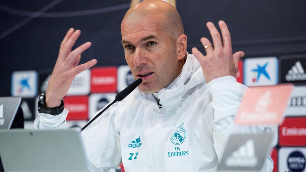 "Zidane: ""Hubiera preferido evitar a la J..."