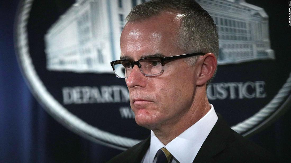 Ex-FBI Deputy Director Andrew McCabe is fired — and fires back https://t.co/qZENNGzWhA