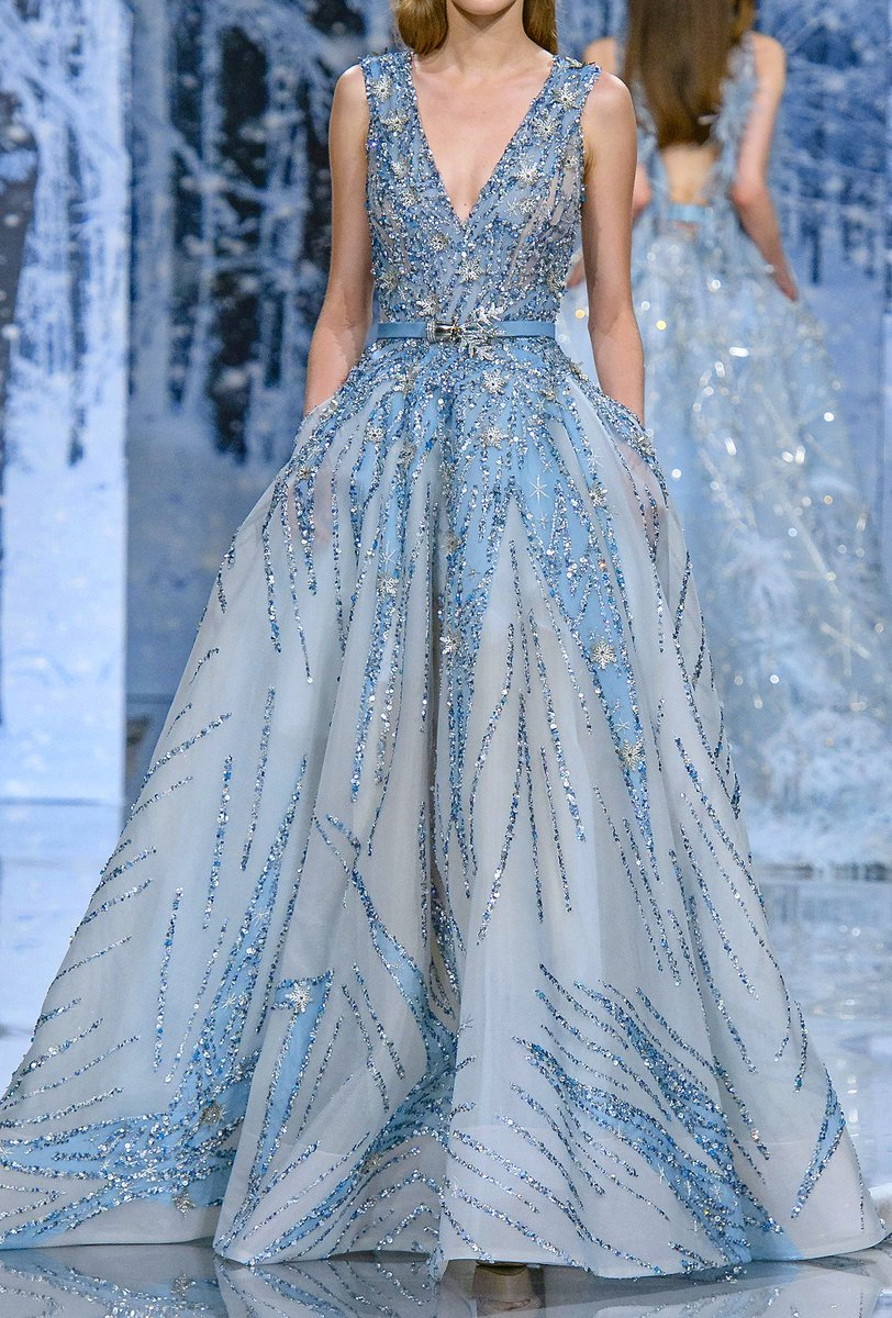 Ziad Nakad Fall 2017 Couture https://t.c...