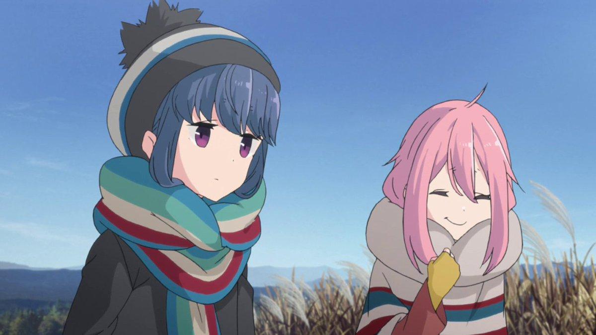 Even when she giggles, Nadeshiko gives o...