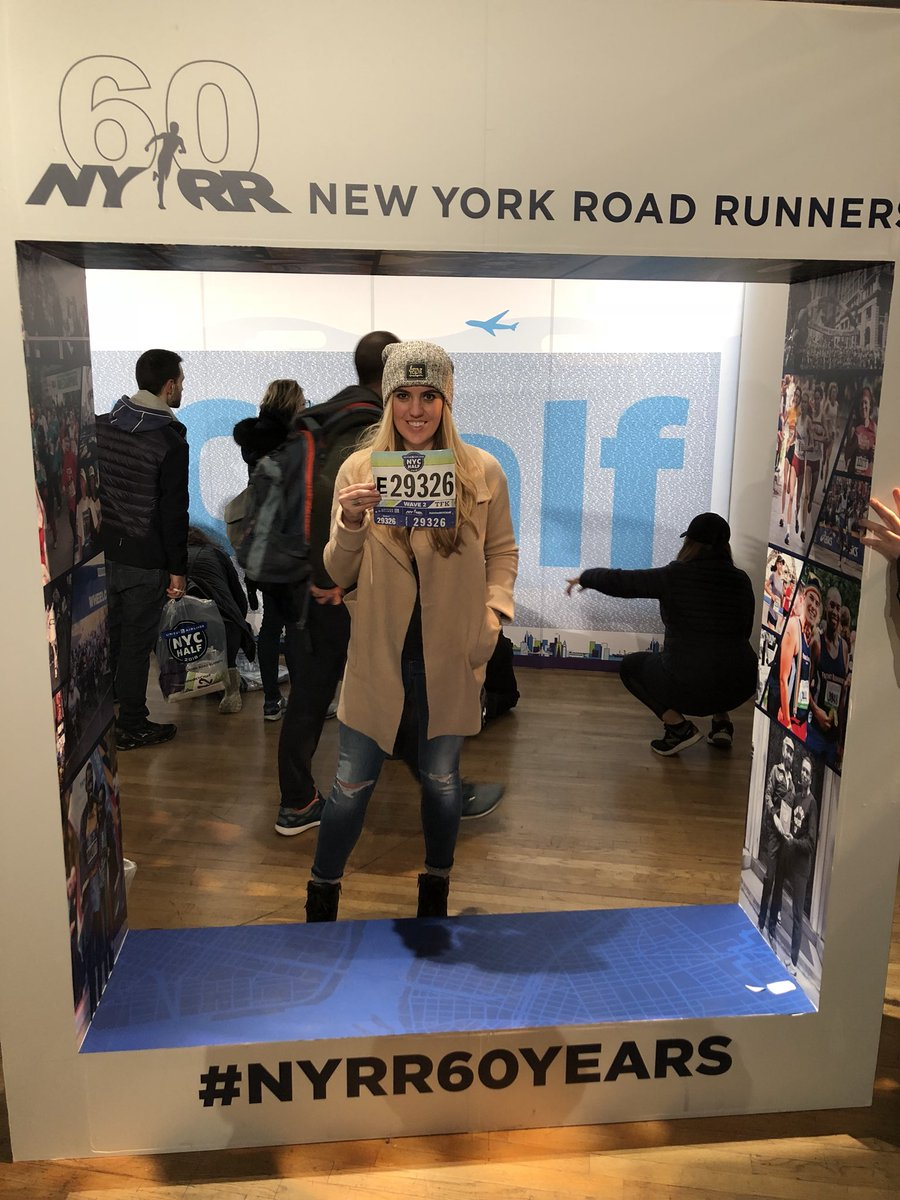 Ready to Run #UnitedNYCHalf https://t.co...