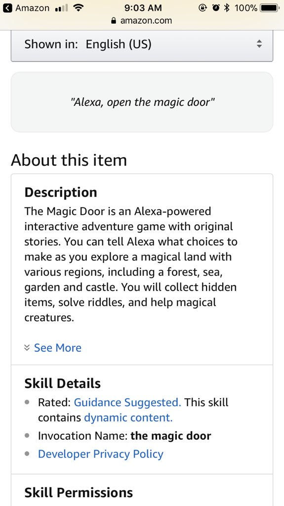 Mykie on Twitter \ Ask Alexa to \u201copen the magic door\u201d if you want to see how terrifying the world will be once she becomes sentient and takes over 😂😅😬\   sc 1 st  Twitter & Mykie on Twitter: \