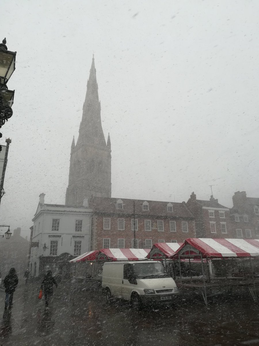We've had blizzards. Love the way the sn...