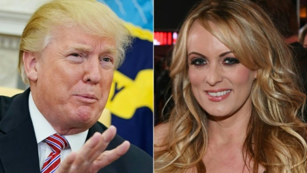 Trump lawyer claims porn star liable for...