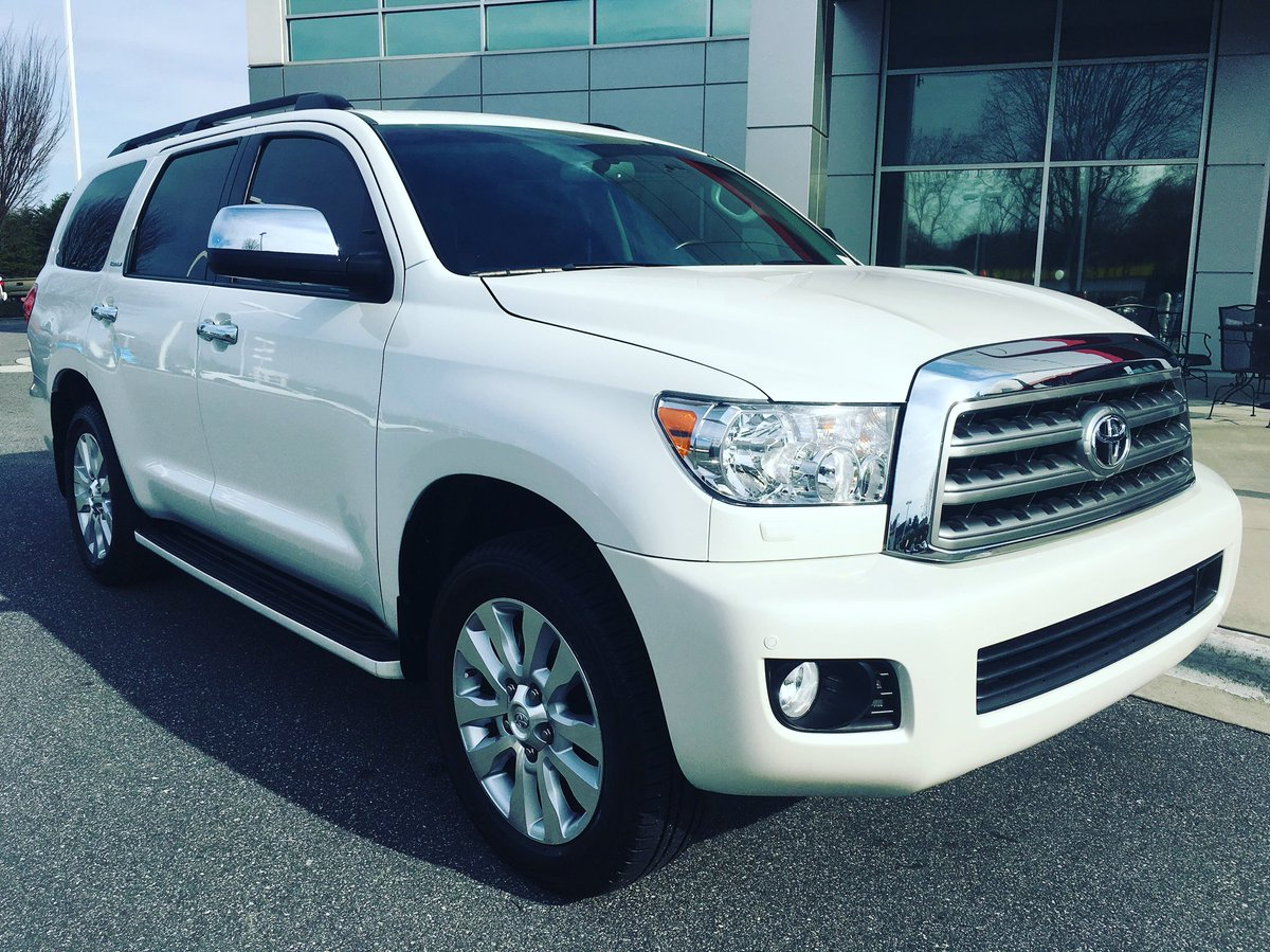 Check out this last 2017 Sequoia! Save t...
