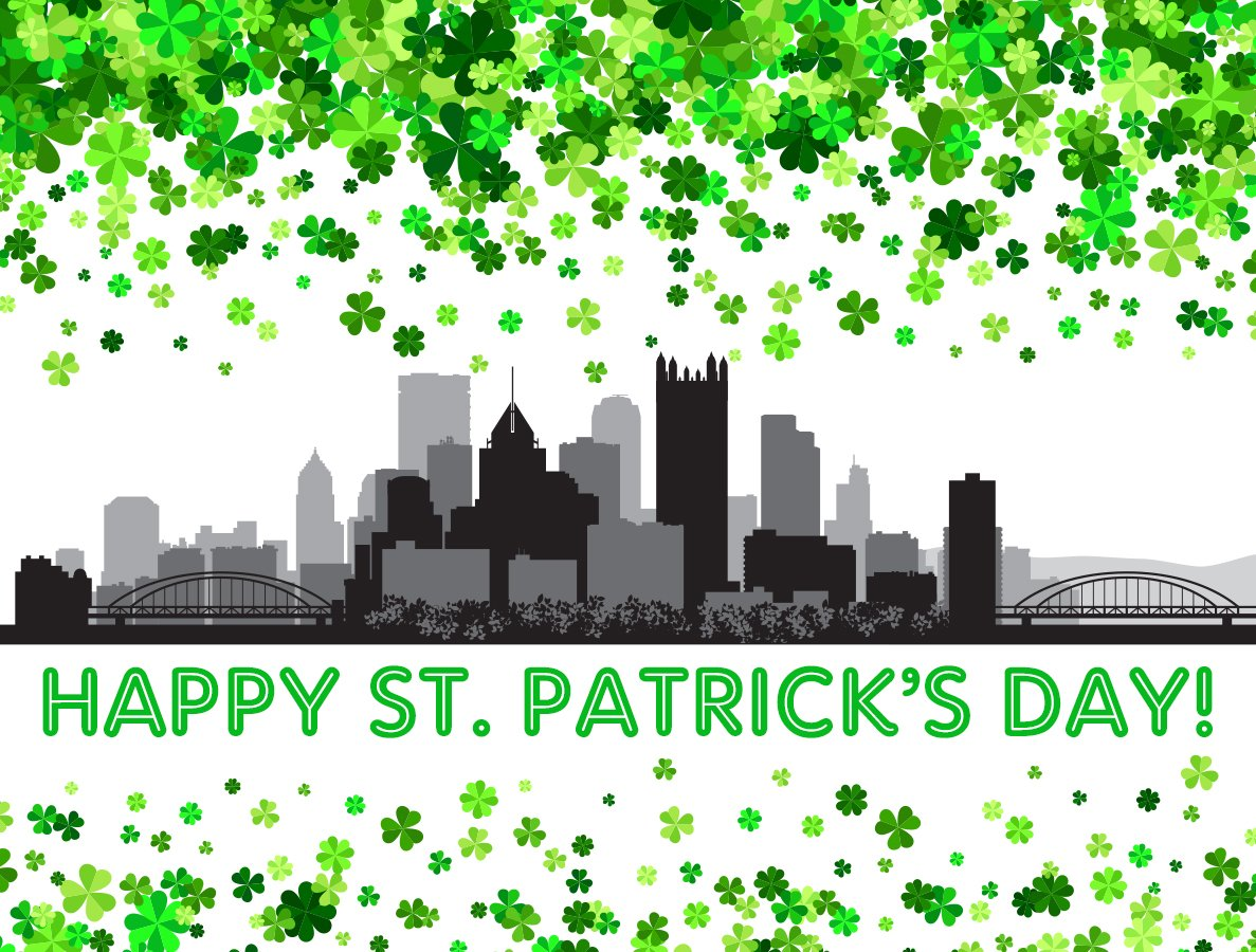 Happy St. Patrick's Day, Pittsburgh!! ht...