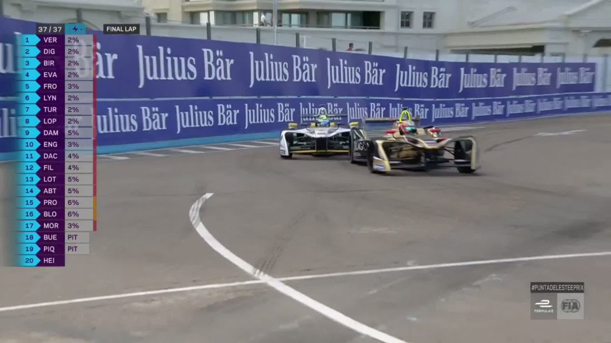 . @JeanEricVergne wins the 2018 CBMM Nio...