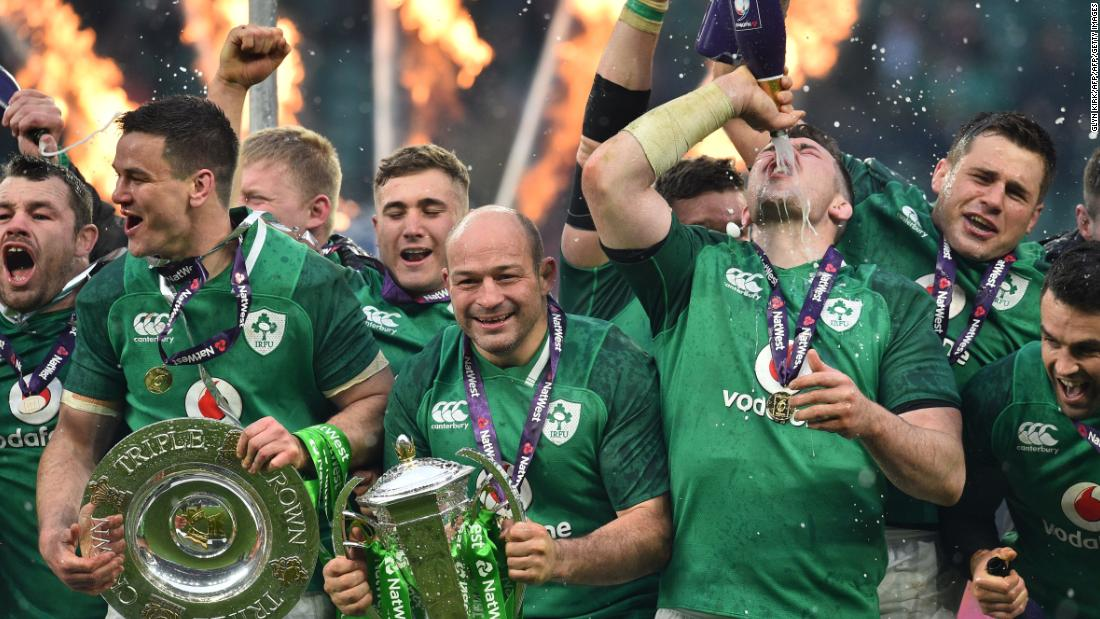 Ireland defeats England to secure Grand...
