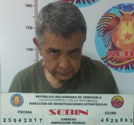 A los que piden que se respeten los DDHH de Rodríguez Torres y de los militares chavistas encarcelados recientemente, les recuerdo que mi amigo el Gral. Vivas -que nunca fue chavista- está preso en el SEBIN y en peores circunstancias. No olvidemos a los verdaderos patriotas.