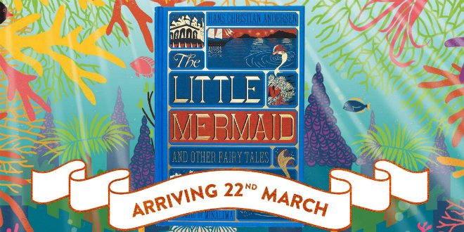 .@minalimas The Little Mermaid and Other Fairy Tales will be released on March 22 and their Tokyo pop-up is now open! - mugglenet.com/2018/03/minali…