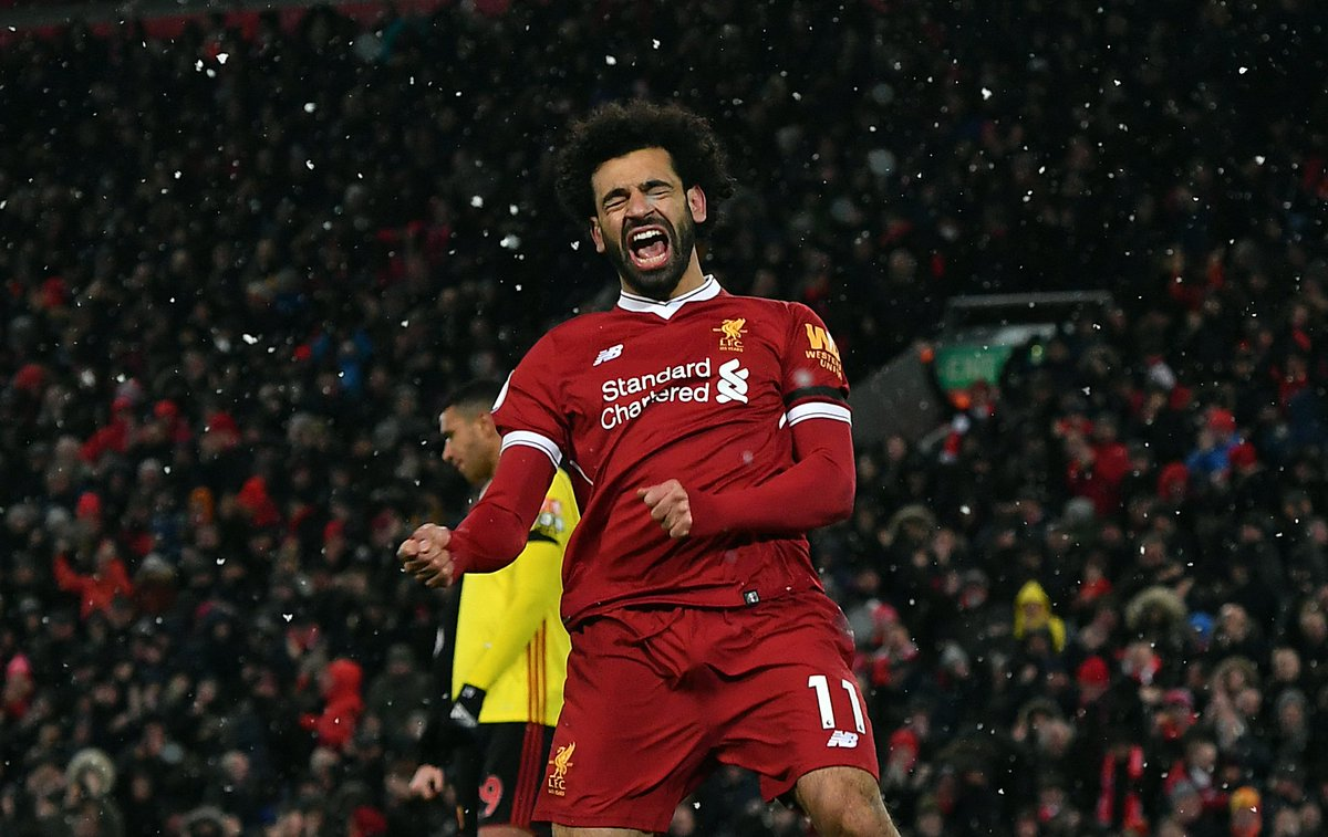 🔥 Mo Salah is currently unstoppable  BES...