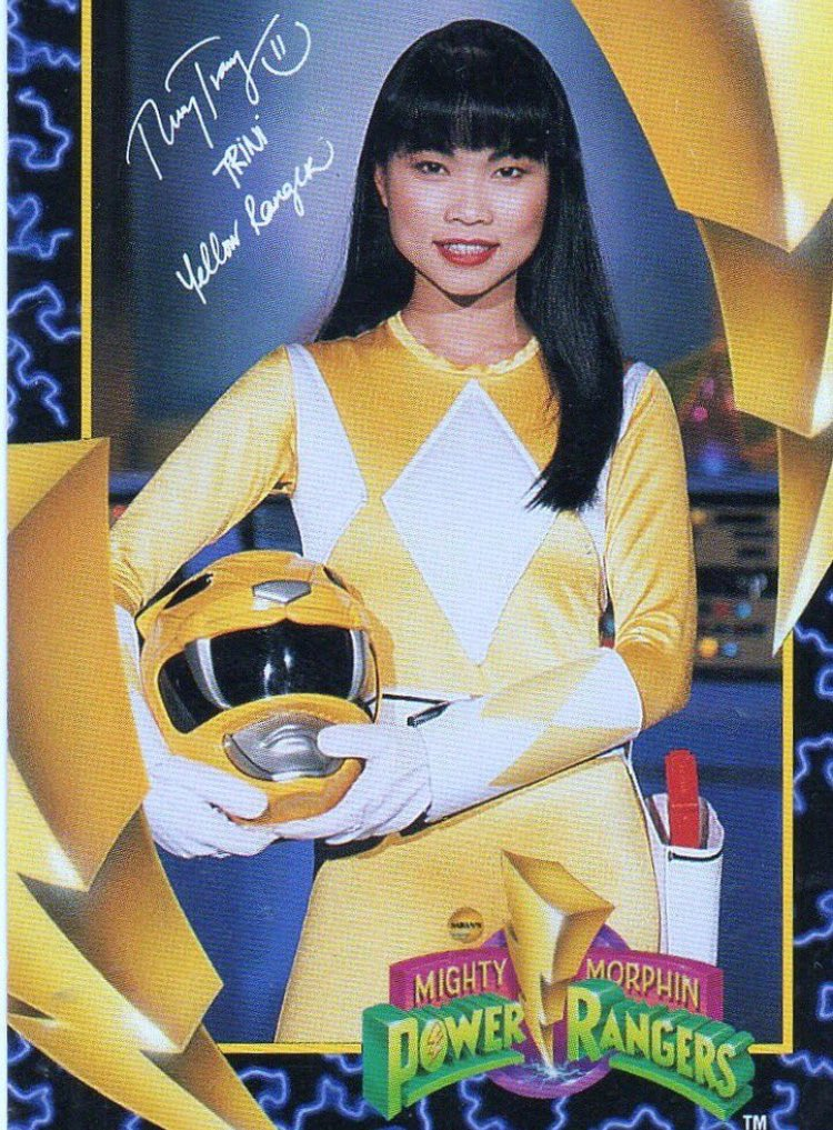 RIP Thuy Trang, the original yellow power ranger 💛 🇻🇳