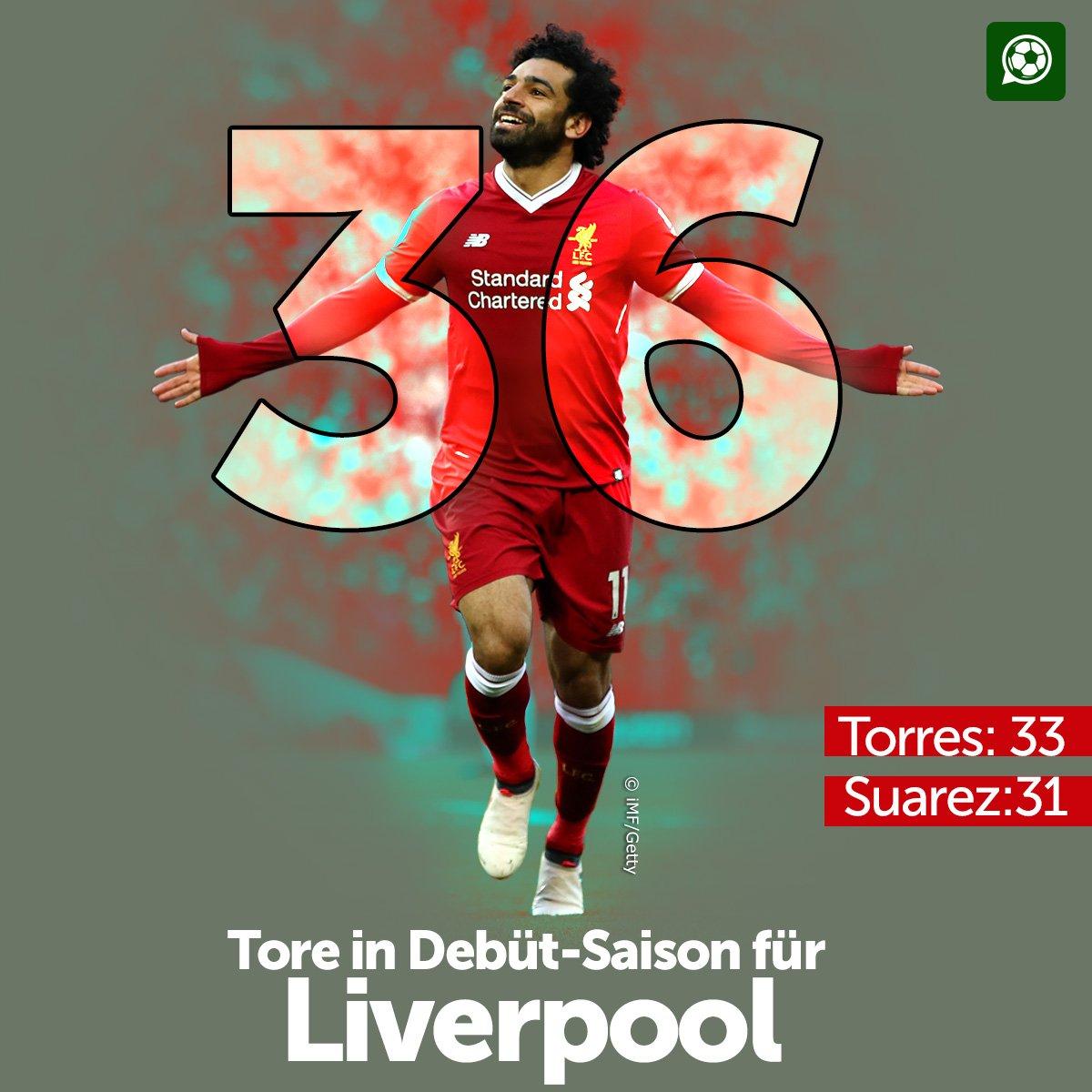 Mo Salah knackt mit vier Treffern gegen...