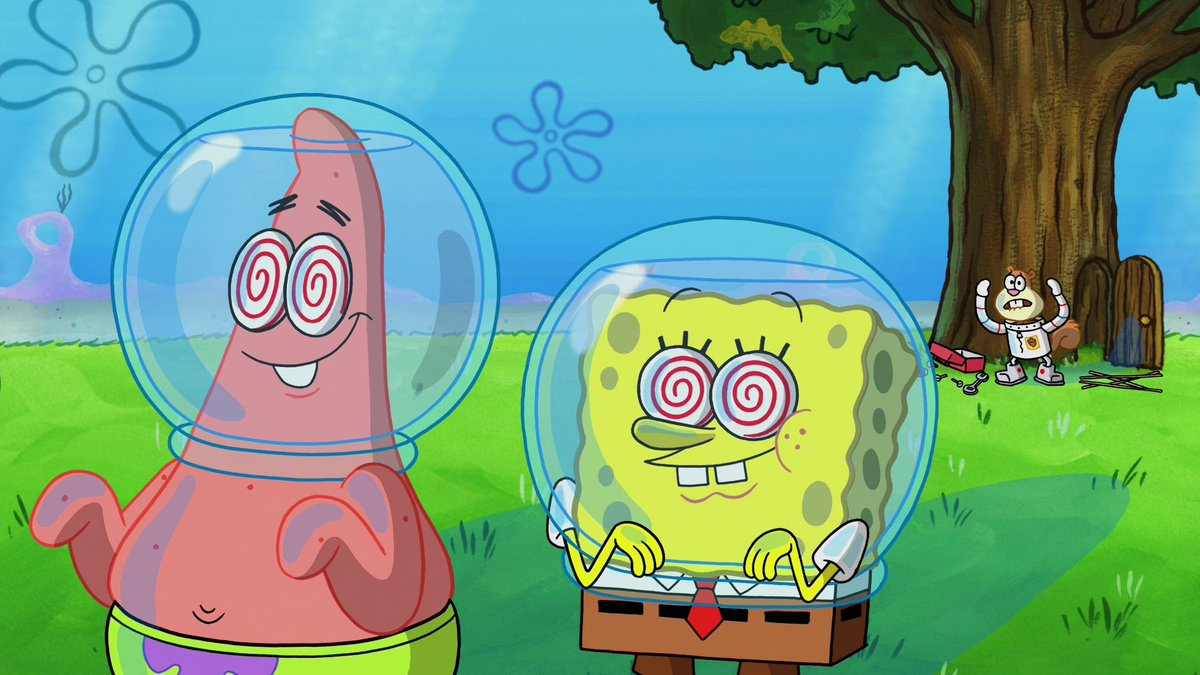 Looks like SpongeBob and Patrick are @OfficialRezz fans too 👀