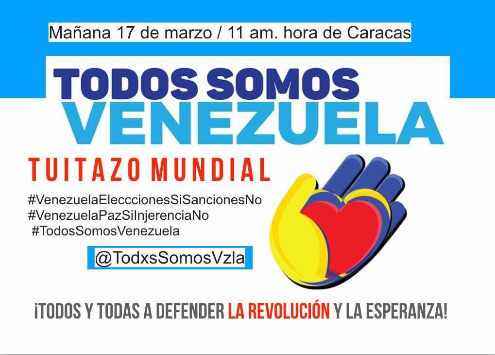 En Catalunya #TodosSomosVenezuela y quer...