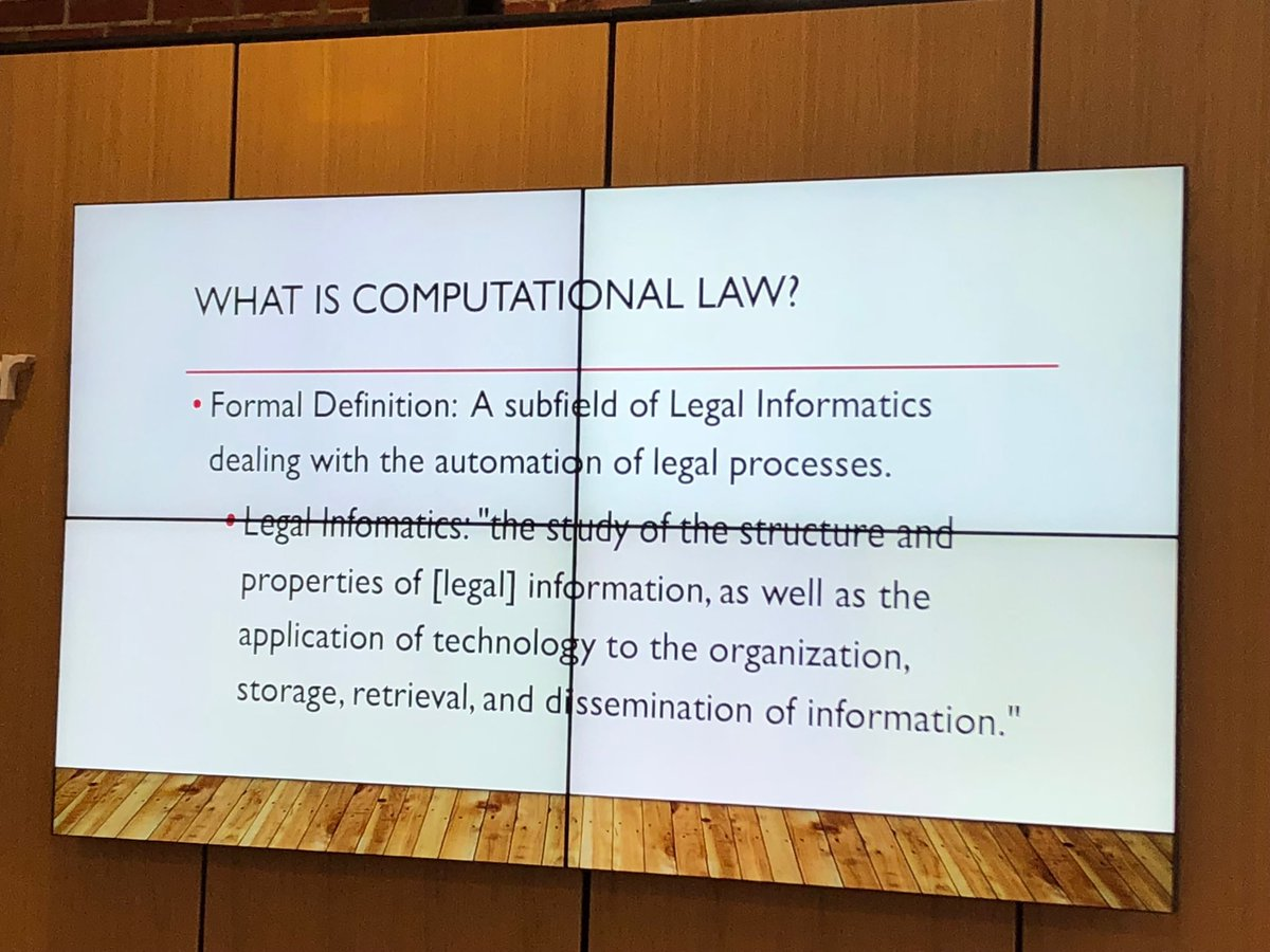 Dazzagreenwood dazzagreenwood on twimap what is computational law clbfest2018 yelopaper Images