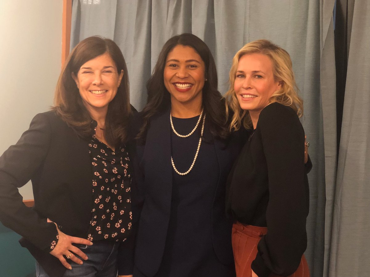 This is the next mayor of San Francisco @LondonBreed Election is June 5th and that's my sister on the others side who is now a San Franciscan. One of the greatest cities in the world!