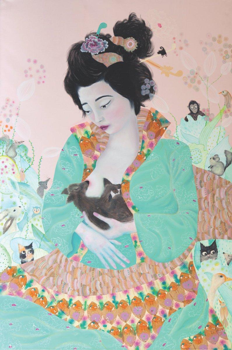 #Sofia Battisti #artexibition #artecontemporanea #OilPaintings #quadri #artecontemporanea  - Ukustom