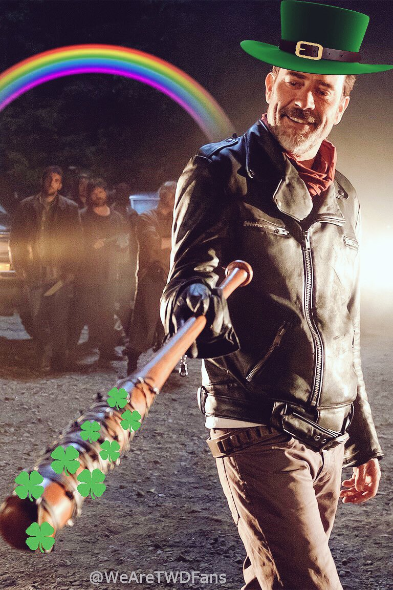 Happy #StPatricksDay to all @TheWalkingDead fans out there, celebrate, enjoy and be safe. #TWD https://t.co/2WsLBvNUu1
