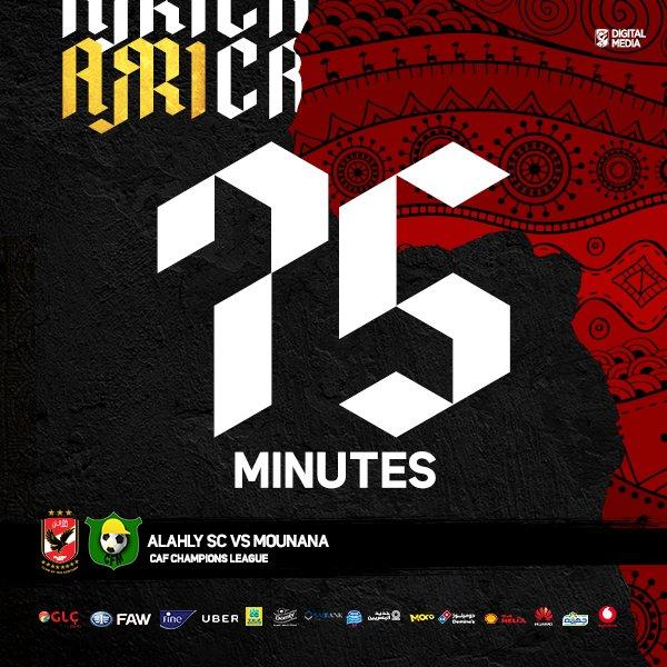 مرور ٧٥ دقيقة #الأهلي ٢ - ١ #مونانا  #Ro...