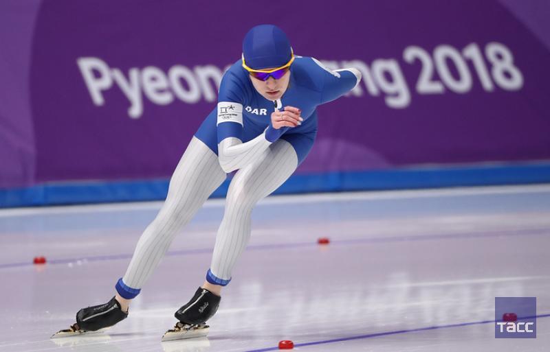 Конькобежка Воронина стала третьей в зач...