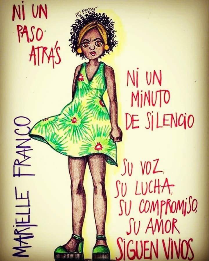 #ForaTemer #MarielleFranco https://t.co/...