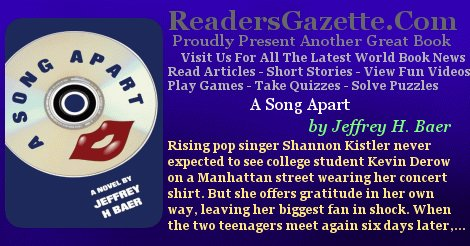 A Song Apart @JBaer10314 #Romance https://t.co/aWwsbEOeS2 Rising pop singer Shannon Kistler never expected to see college st #IARTG 2