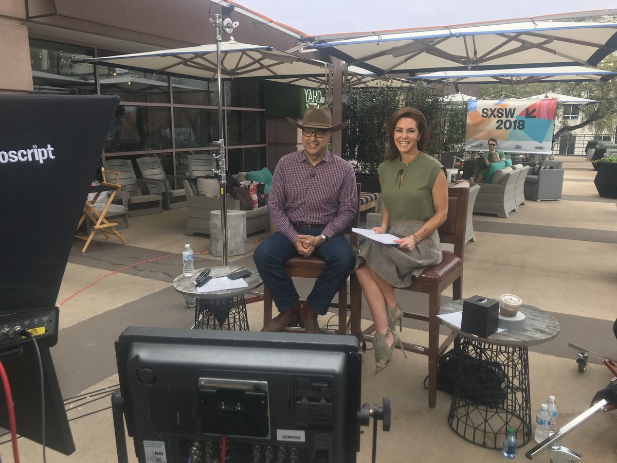We're live now from #SXSW in #AustinTX. @VelshiRuhle @MSNBC