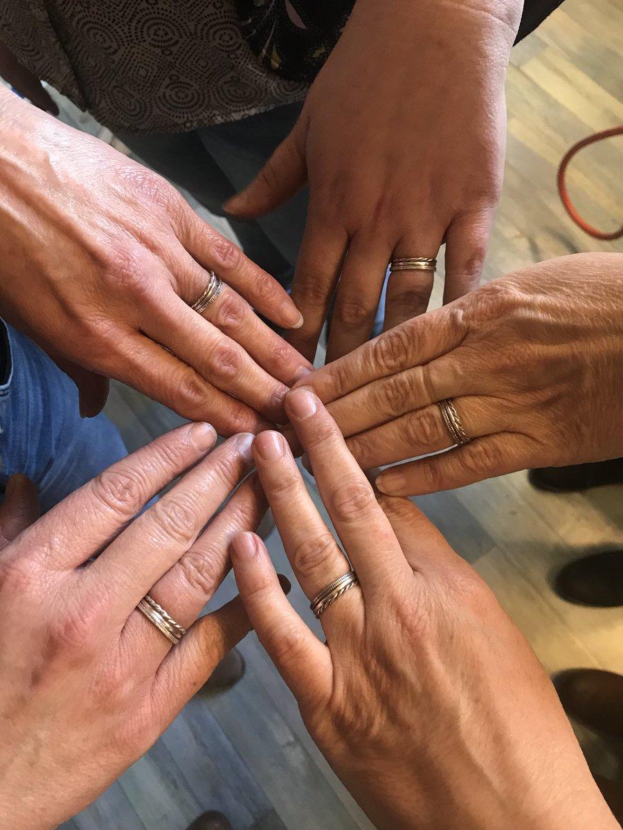 Elke maand geef ik op zaterdag een workshop 3 zilveren ringen maken. Interesse? Minimaal 3, maximaal 6 personen. Vandaag deze mooie resultaten. https://t.co/o2OT05BvpD