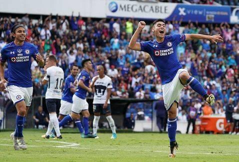 Cruz Azul igualo 1-1 con  Pumas Jornada 12