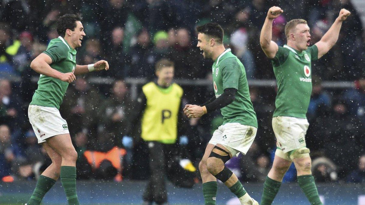 #6Nations: l'Irlande fête la Saint-Patri...